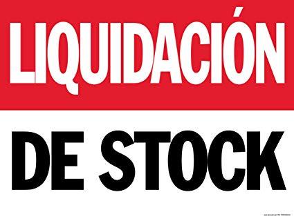 Liquidacion 50%